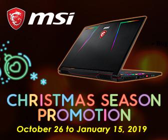 MSI Christmas Promo 2018