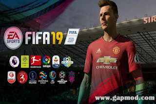 FTS Mod FIFA 19 Full League Top Eropa & Asia
