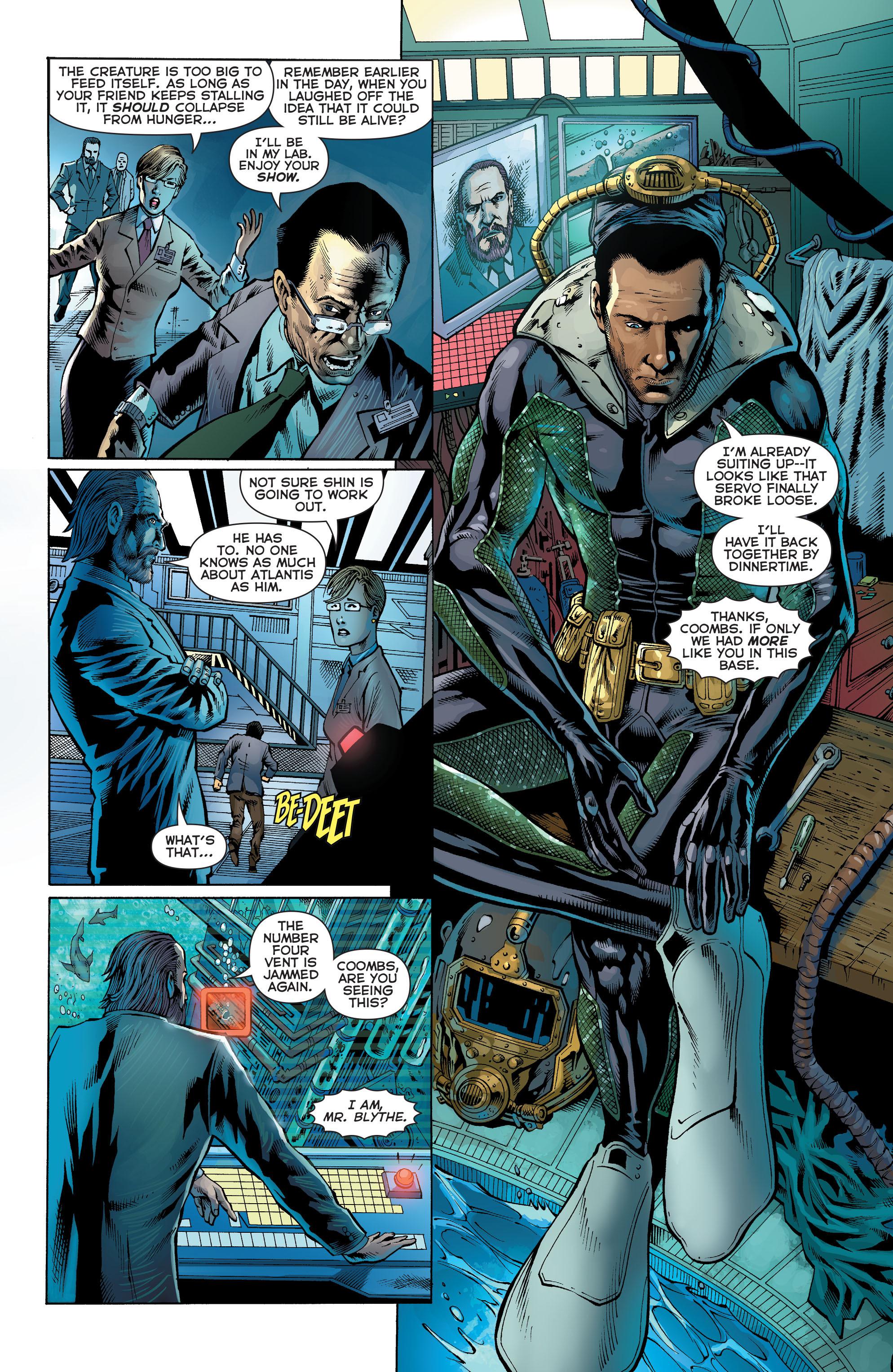 Read online Aquaman (2011) comic -  Issue #27 - 8