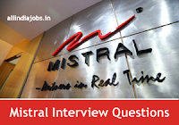 Mistral Solutions Interview Questions