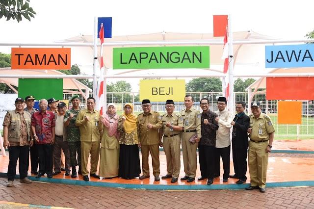 Taman Lapangan Jawa Hidupkan Perekonomian Warga