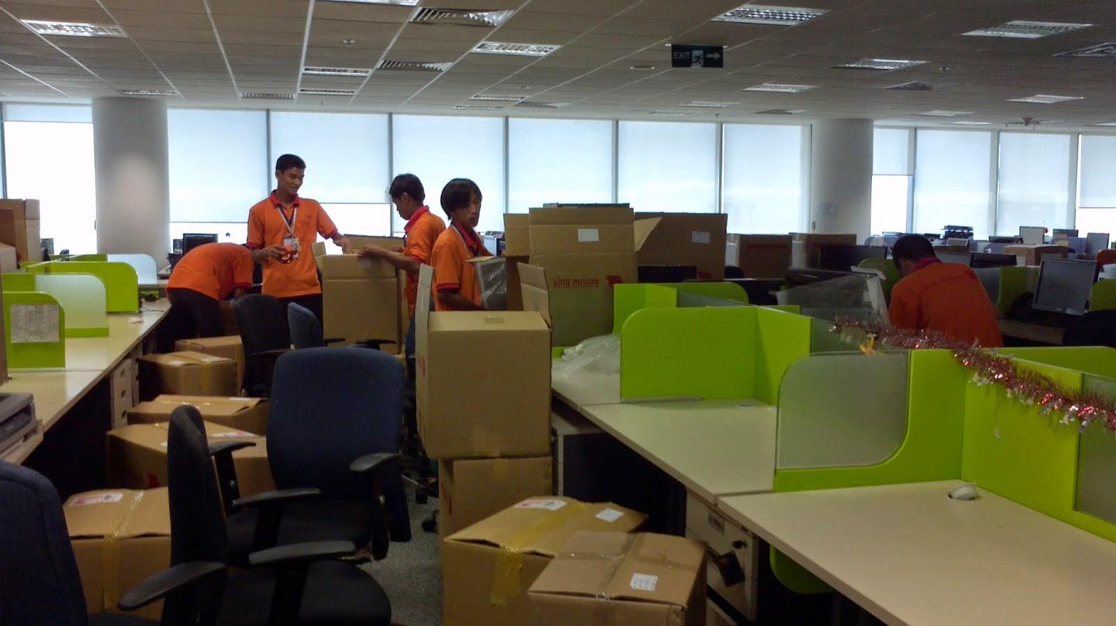 Chuyển văn phòng trọn gói TP.HCM