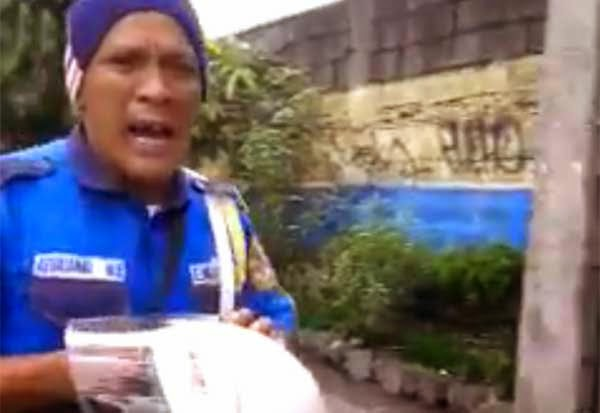 Traffic Enforcer Bullied