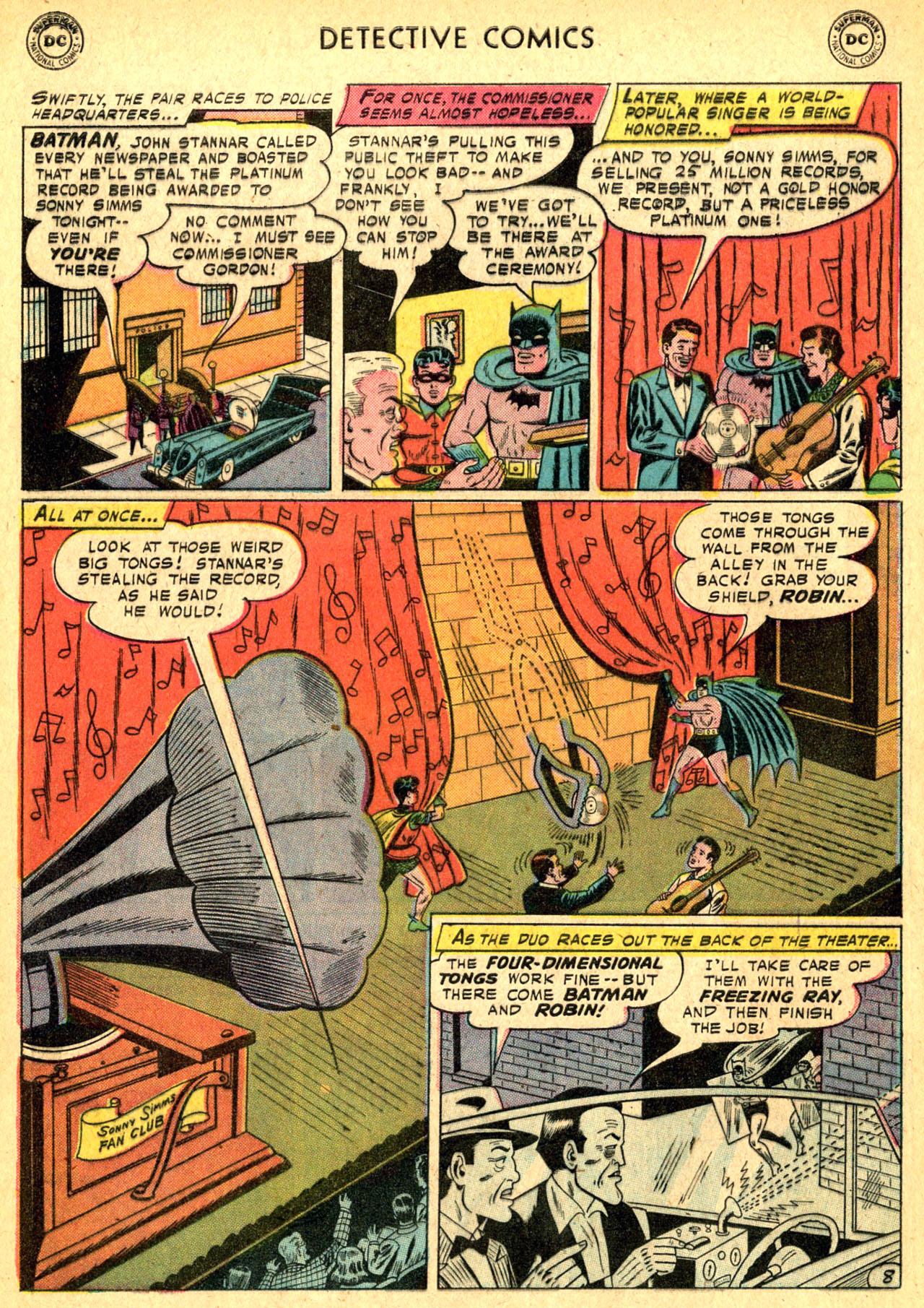 Read online Detective Comics (1937) comic -  Issue #250 - 10