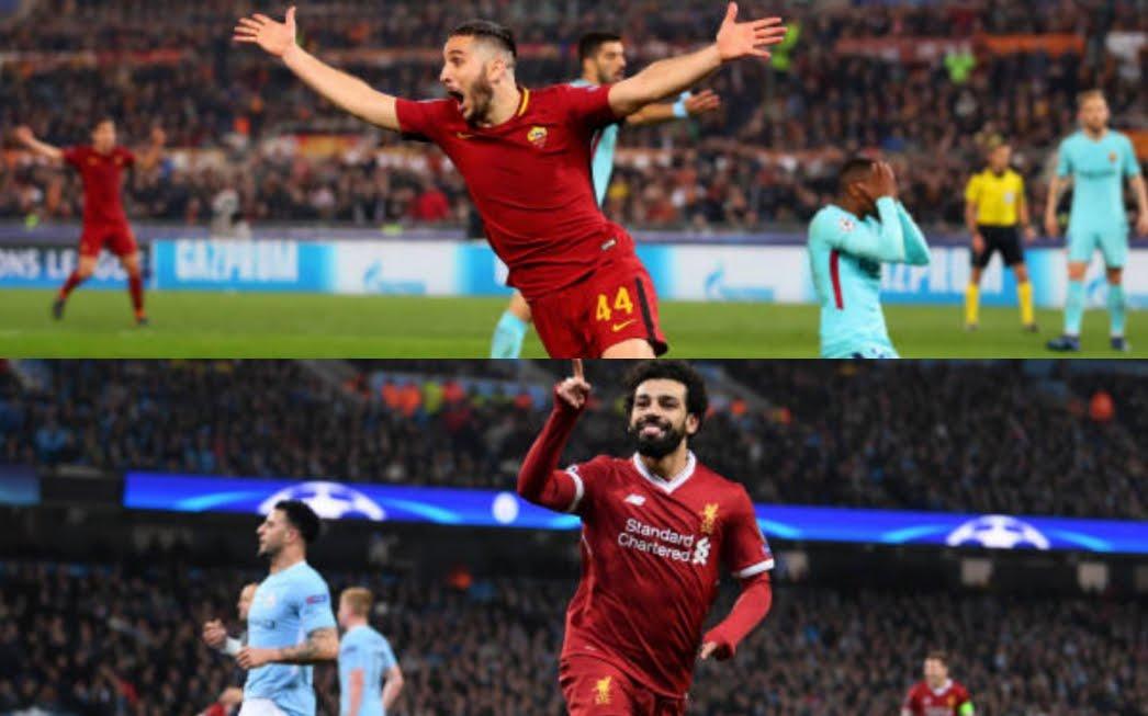 Semifinali Champions: Roma-LIvepool e Real Madrid-Bayern Monaco