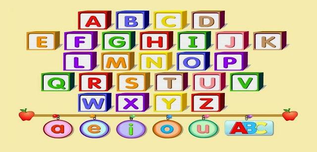 A importância da aprendizagem do alfabeto está, sobretudo, na necessidade de o aluno identificar e saber o nome das letras.