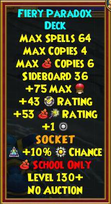 Wizard101 Best Gear - Omen Skeleton Key Boss Drops