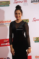Vennela in Transparent Black Skin Tight Backless Stunning Dress at Mirchi Music Awards South 2017 ~  Exclusive Celebrities Galleries 064.JPG