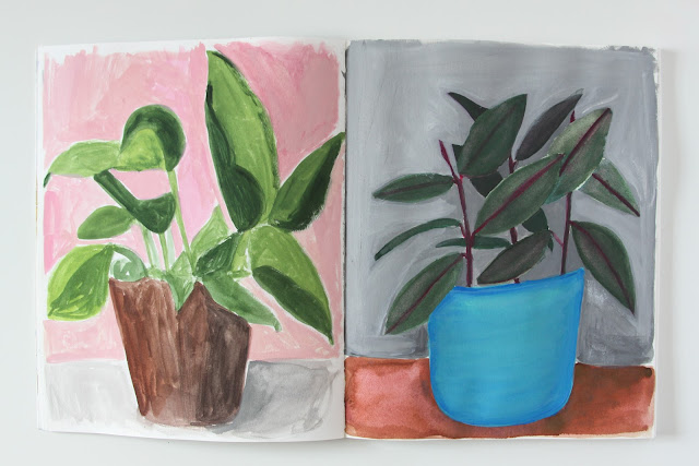 2x2 Sketchbook, Dana Barbieri, collaborations, sketchbooks, Anne Butera, Dana Barbieri