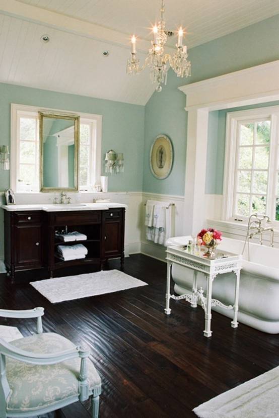 Aqua Blue Bathroom Colors: The Peak Of Très Chic: For The Love Of Turquoise