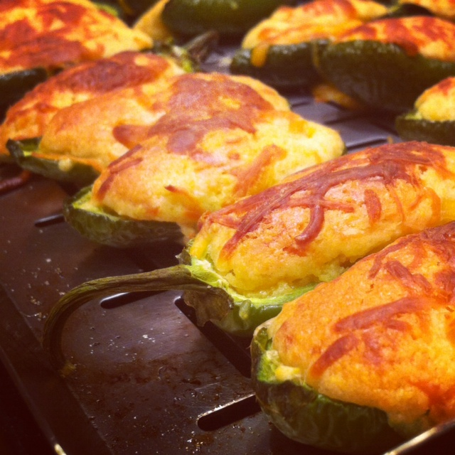 Jalapeno Cornbread Poppers (Slow Down And Savor)