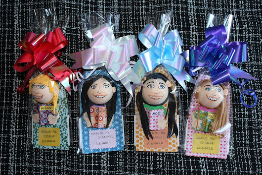 Broches Puppetilandia: (mini)mini-me's!