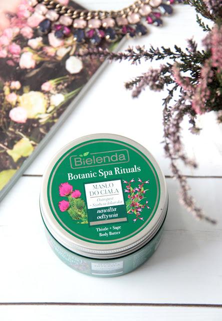 Bielenda Botanic Spa Rituals | Masło do ciała ostropest i szałwia lekarska