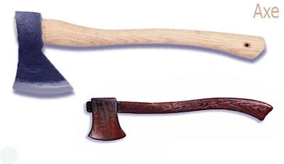 axe, ax tool
