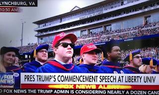 TRUMP Speaks at Liberty University Commencement - Blasts Critics - Graduates Wear #MAGA Hats!