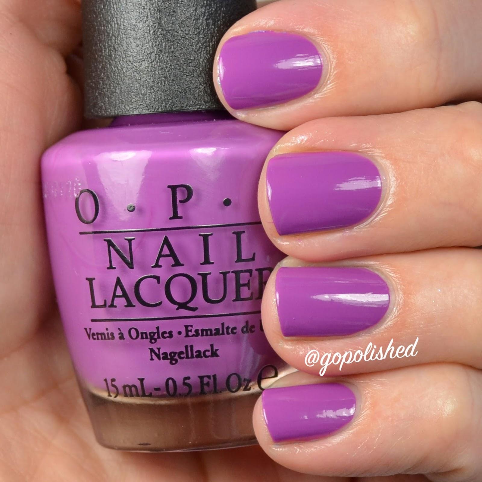 Go Polished: My #2 favorite Spring nail polish 2016...