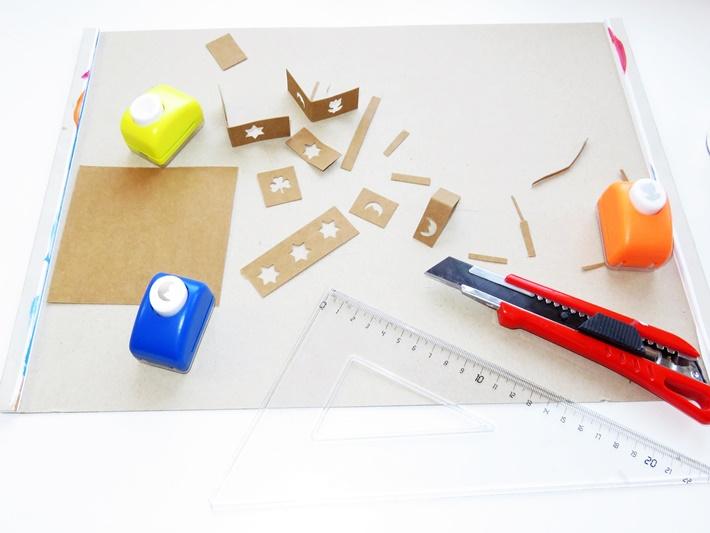 Snappap Etikett mit ausgestanzten Motiven, DIY Label, vonKarin