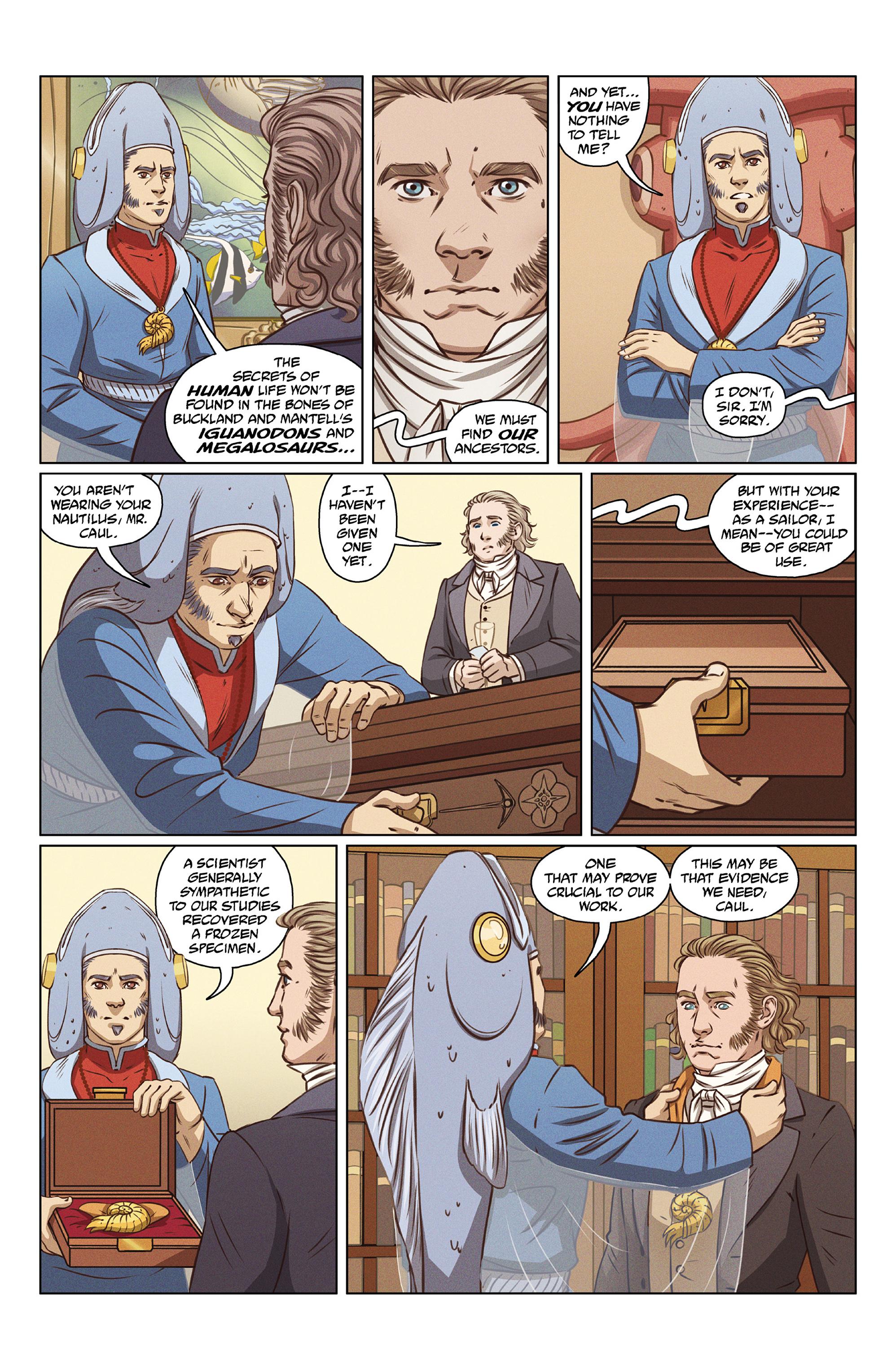 Read online Abe Sapien comic -  Issue #27 - 11
