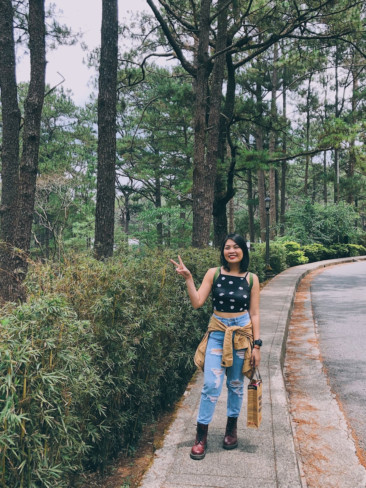 Strolling in Camp John Hay