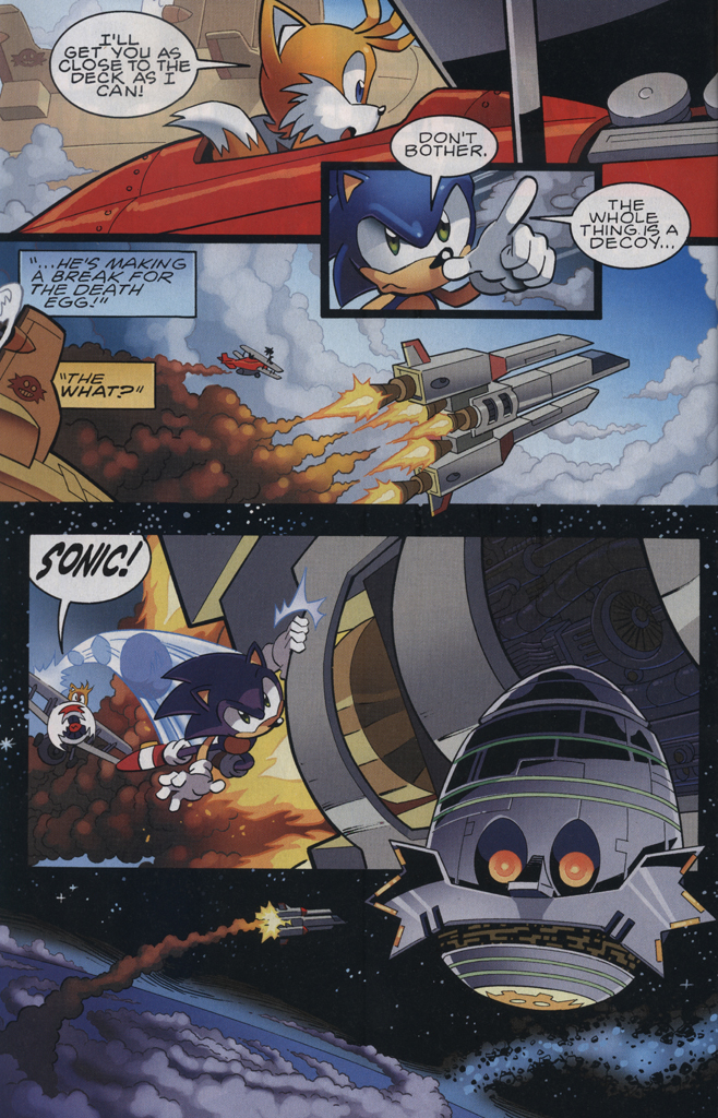 Read online Sonic The Hedgehog comic -  Issue #229 - 20