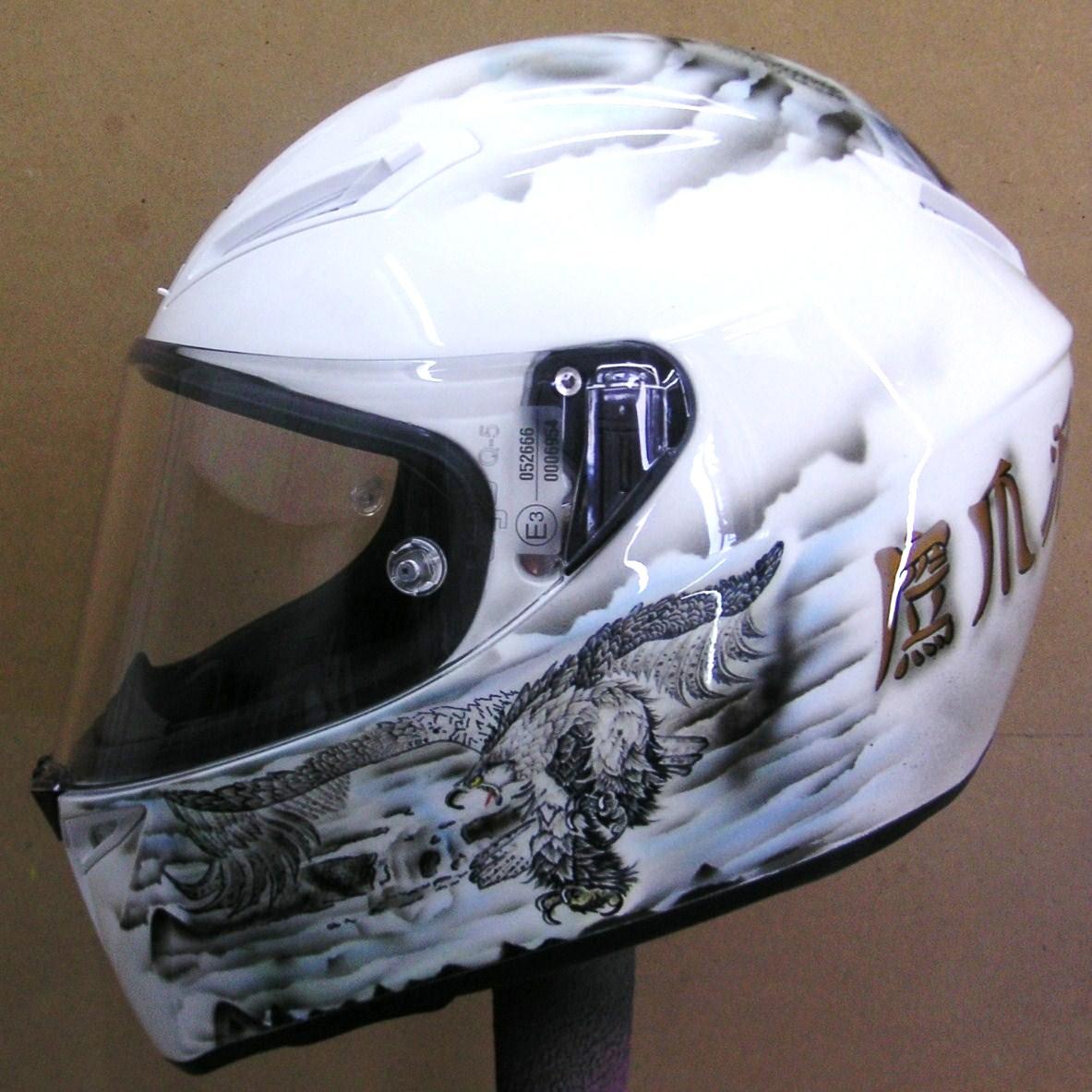 Custom Airbrushed Helmet 159 Hand Painted Helmets