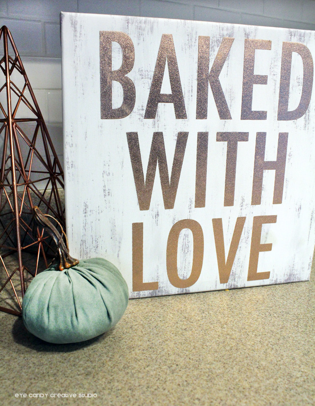 baked with love, pumpkins, fall decor, kitchen remodel, libmanBTS