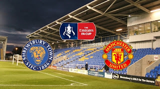 Shrewsbury vs Manchester United