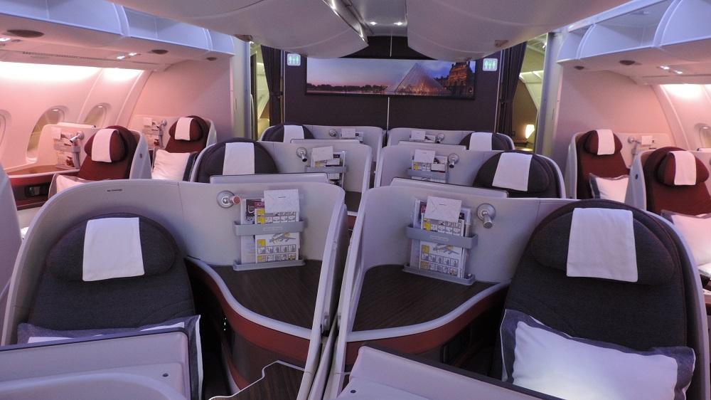 The Filipino Traveler Review Qatar Airways A380 Business