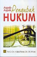 BUKU ASPEK-ASPEK PENGUBAH HUKUM
