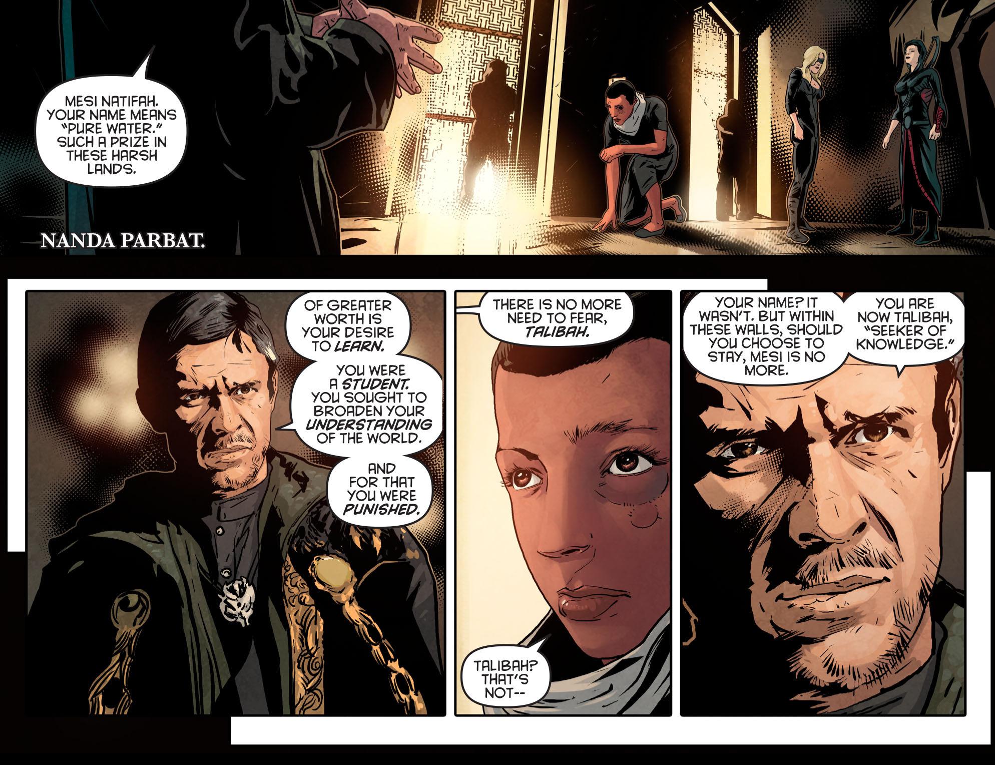 Read online Arrow: Season 2.5 [I] comic -  Issue #14 - 21