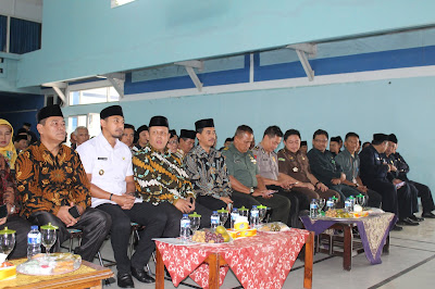 Wakil Bupati Hadiri Pisah Sambut Kepala Kantor Kementerian Agama Kab. Kuningan