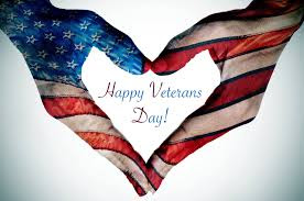 Thank you veterans for your service!