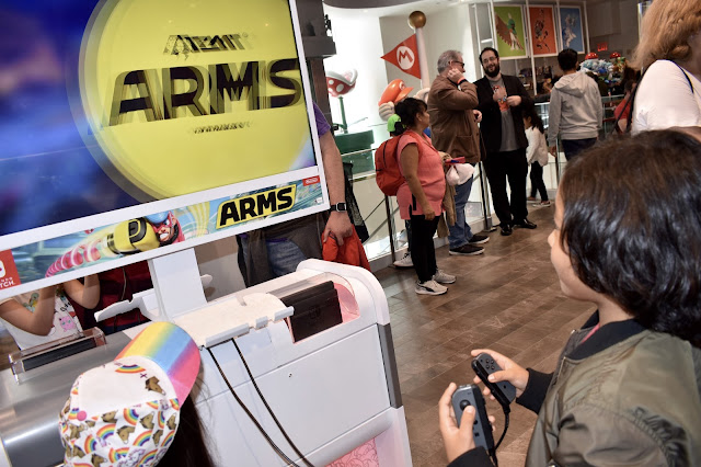 Nintendo NYC ARMS
