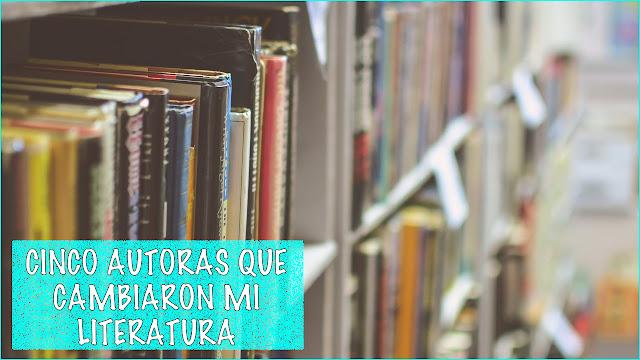 Cinco autoras #LeoAutorasOct