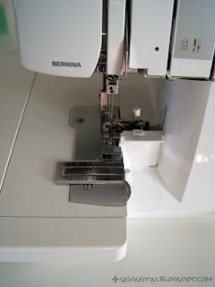die Overlock Bernina L460 - oder meine Maschinenparkerweiterung [Werbung]