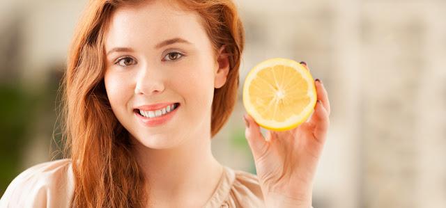 lemon juice hair