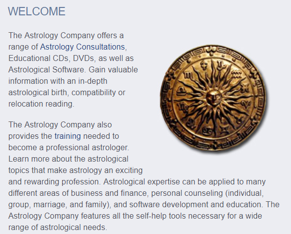 The Astrology Company | EMPEHI COM A Blog for the Mid 60's Classes