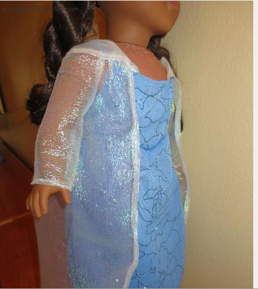 Elsa Dress Pattern $1 fits doll Kawartha Kids will Love this Inspired by Disney