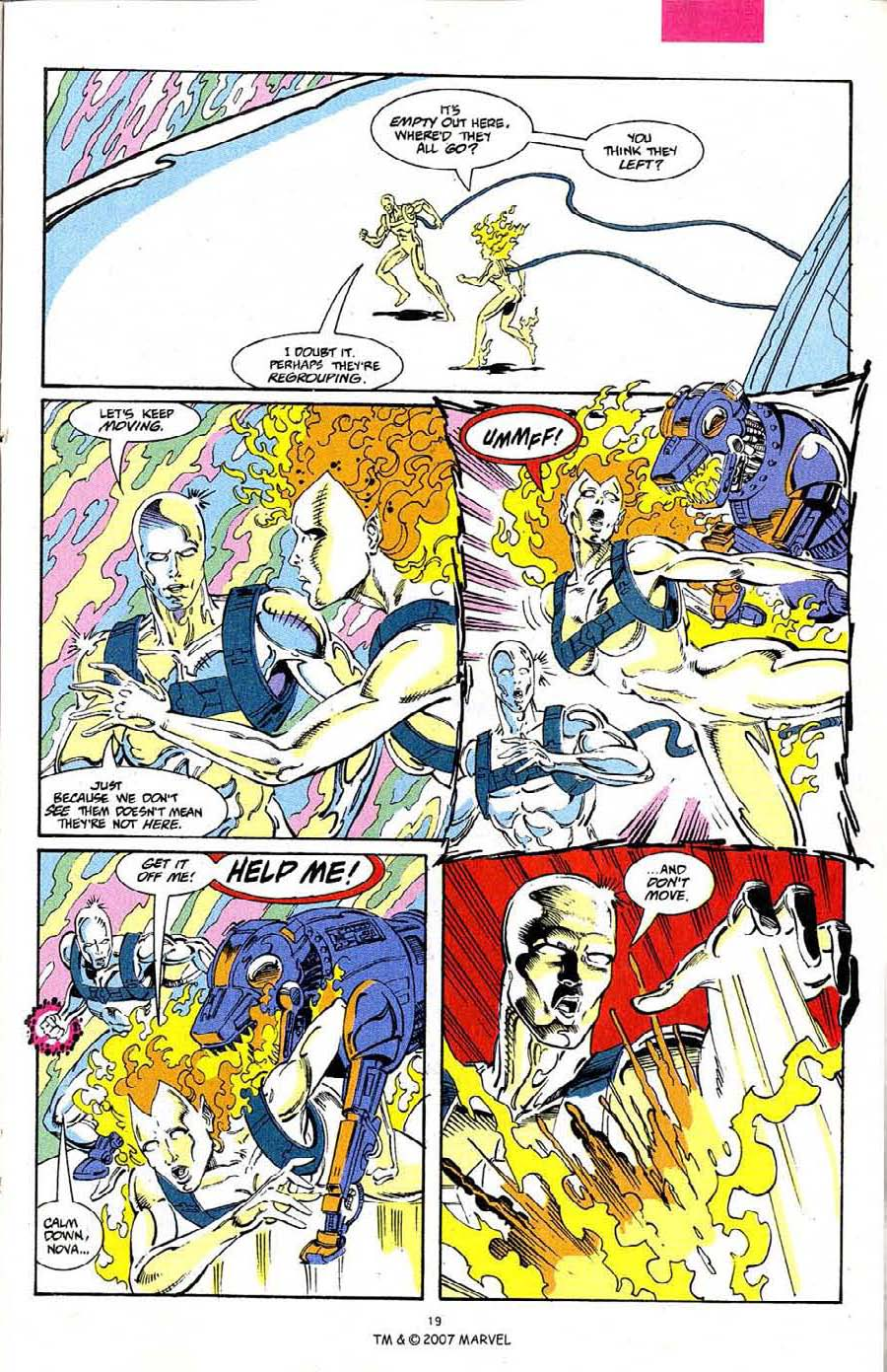 Read online Silver Surfer (1987) comic -  Issue #68 - 21
