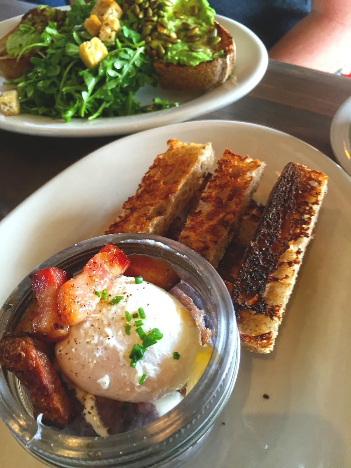 George Eats: Eat This: Egg-in-a-Jar @ Bob\'s Well Bread