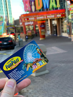 clifton hill fun pass niagara what claire did travel blogger