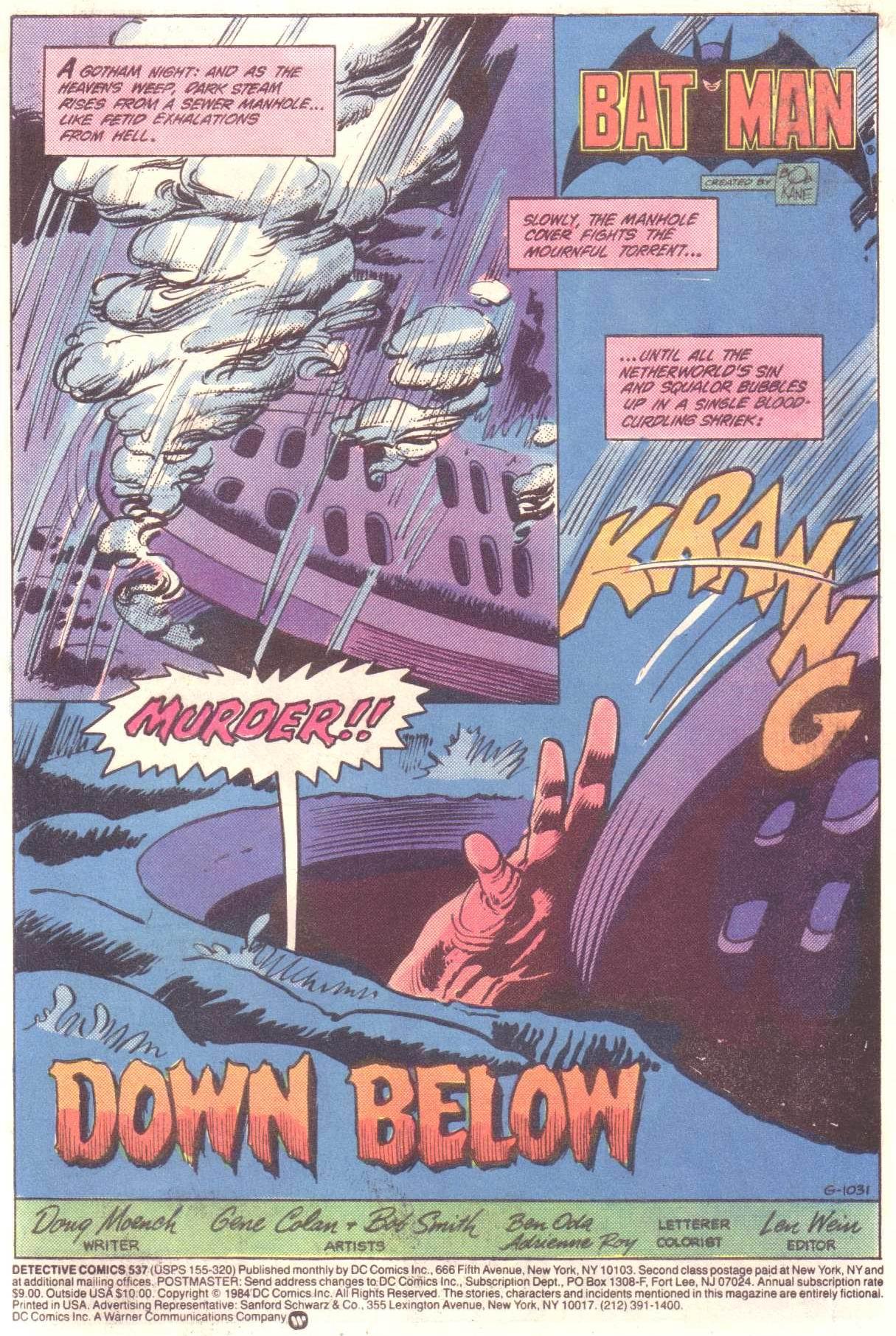 Detective Comics (1937) 537 Page 2