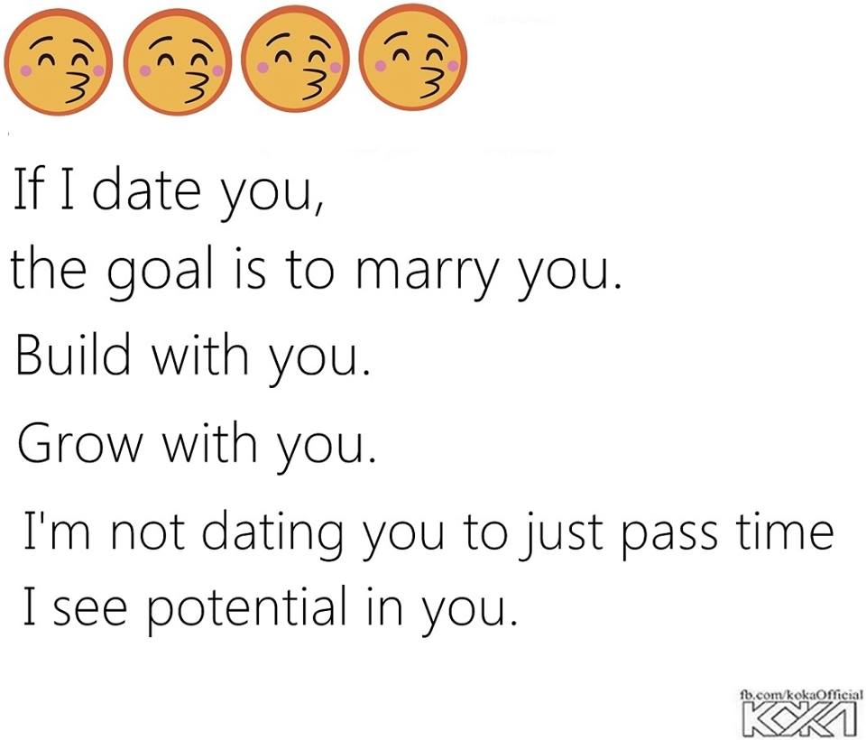 Real meaning of dating