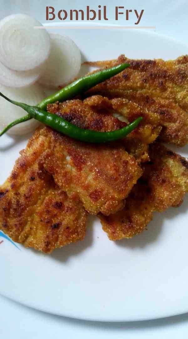 Bombil fry recipe