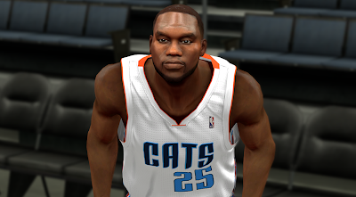NBA 2K14 Al Jefferson Next-Gen Face Mod