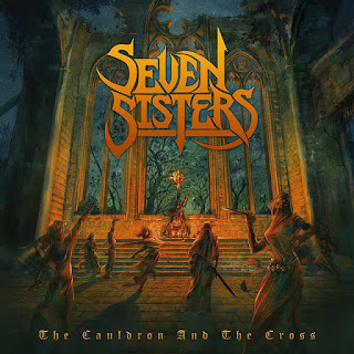 "Το βίντεο των Seven Sisters για το ""Blood and Fire"" από το album ""The Cauldron And The Cross"""