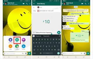 Cara mengatur, mengundang, dan mengirim uang ke teman-teman Anda di WhatsApp Payments