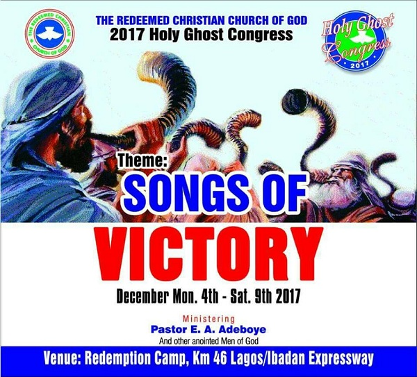 Message RCCG HOLY GHOST ANNUAL CONGRESS 2017 Day 1 Sermon