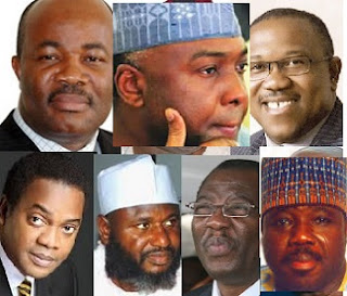 Fresh Trouble As Saraki, Akpabio, Sheriff List Of Top 31 Ex-Govs For Fresh Corruption Trial, See List Of Govs And Their States