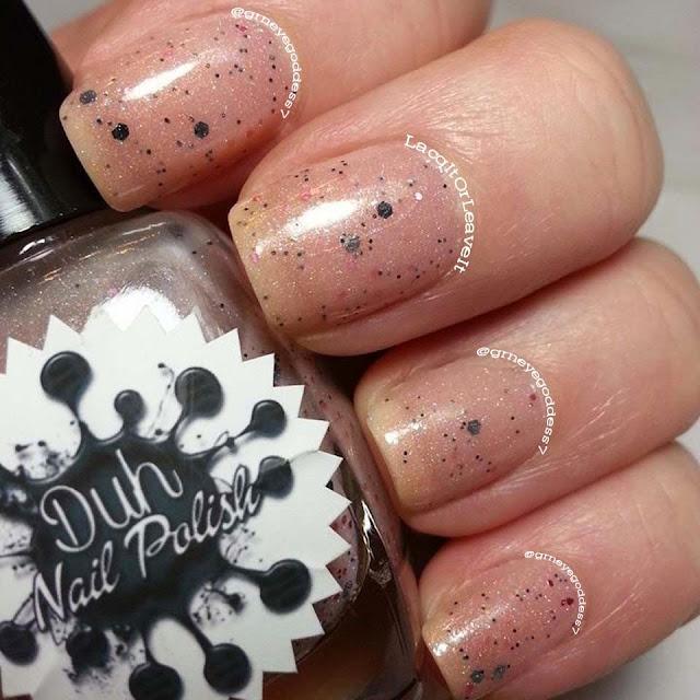 Duh Nail polish Champagne & Caviar Dreams